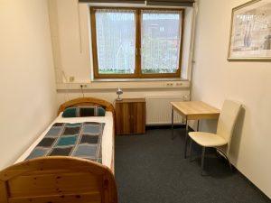 Zimmer für Wochenendheimfahrer